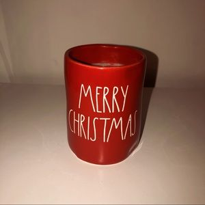 Rae Dunn Merry Christmas Candle HTF